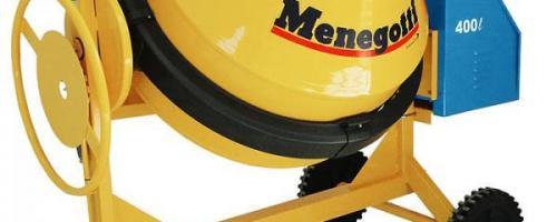 Betoneira Menegotti 400L Elétrica/Diesel